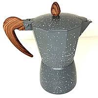 Гейзерная кофеварка A-Plus (2085) 300 мл на 6 чашек