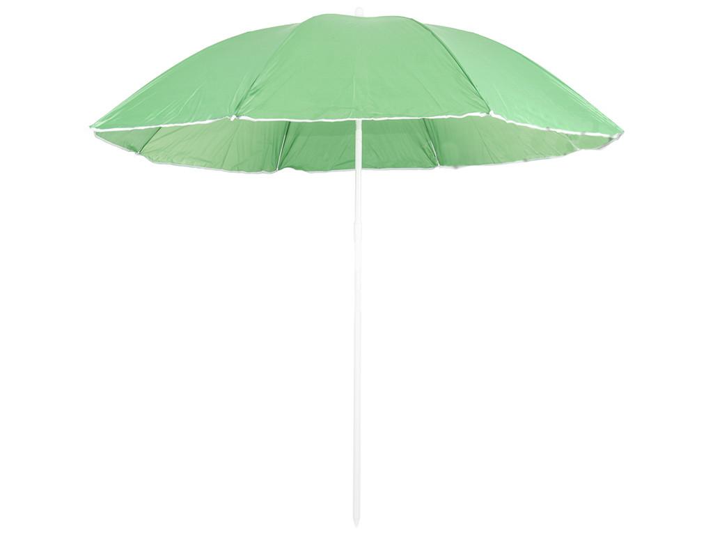 Пляжна парасолька від сонця з захистом від UV-променів (Зелений) для пляжу без оборки 1.5м (Зонт)
