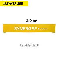 Фитнес резинка эспандер Mini Band Synergee (2-9 кг)