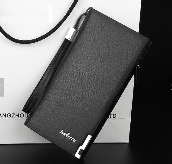 Мужской портмоне (клатч, кошелек) Classic Черный