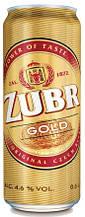 """Пиво """"Zubr"""" Gold 4.6%"""