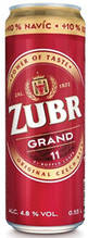 Пиво Zubr Grand 4.8%