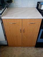 Кухонный стол цвет бук 80 см