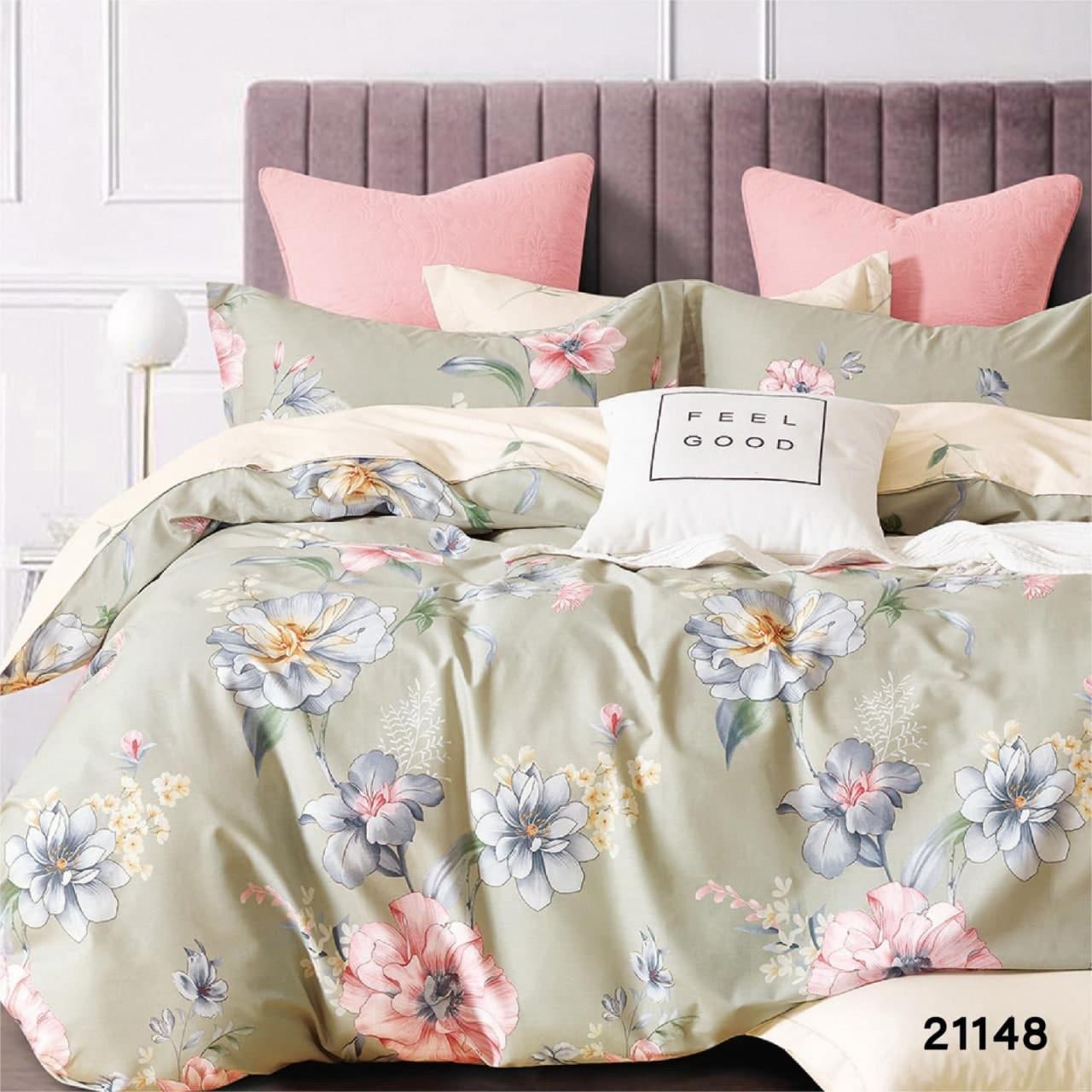 Двуспальное постельное белье Вилюта 21148 ранфорс