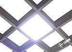 Светильник для потолка Грильято 220В СГ 7Вт 100х100 мм, фото 6