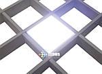 Светильник для потолка Грильято 220В СГ 7Вт 100х100 мм, фото 7