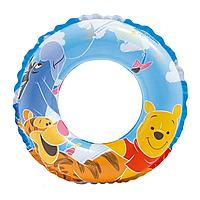 Детский надувной круг Винни и друзья Intex 58228, 3-6 лет