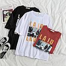 Женская футболка Laid Love Белая, фото 3
