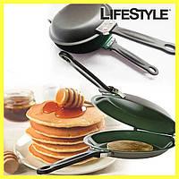 Двухсторонняя сковорода для блинов панкейков Ceramic Non Stick Pancake Maker