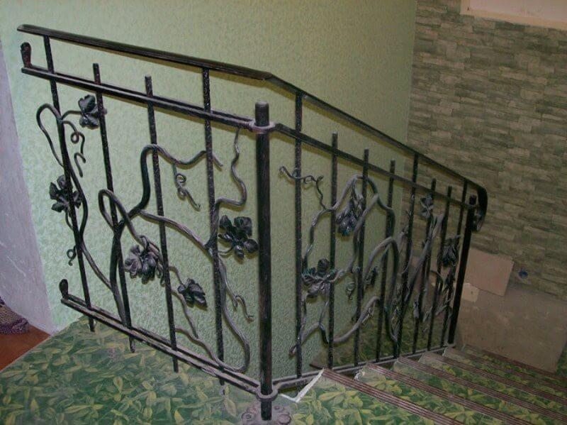 Купить металла перила для лестницы