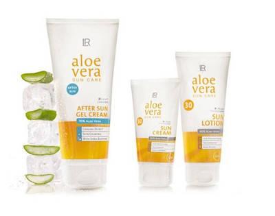 Солнцезащитная серия LR Aloe Vera