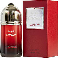 Мужская туалетная вода Cartier Pasha de Cartier Edition Noire Sport 100ml (tester), фото 1