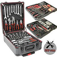 Профессиональный большой Набор ручного инструмента в чемодане для автомобилей 399 pcs предметов Royalty-Tools