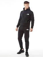 Демисезонный спортивный костюм черный The North Face (Норт Фейс)