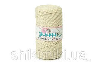 Трикотажный шнур PP Macrame Medium, цвет Молочный