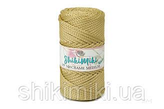 Трикотажный шнур PP Macrame Medium, цвет Золотой