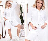 Женский костюм двойка (шорты + рубашка) 1207 (29)