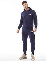 Демисезонный спортивный костюм синий The North Face (Норт Фейс)