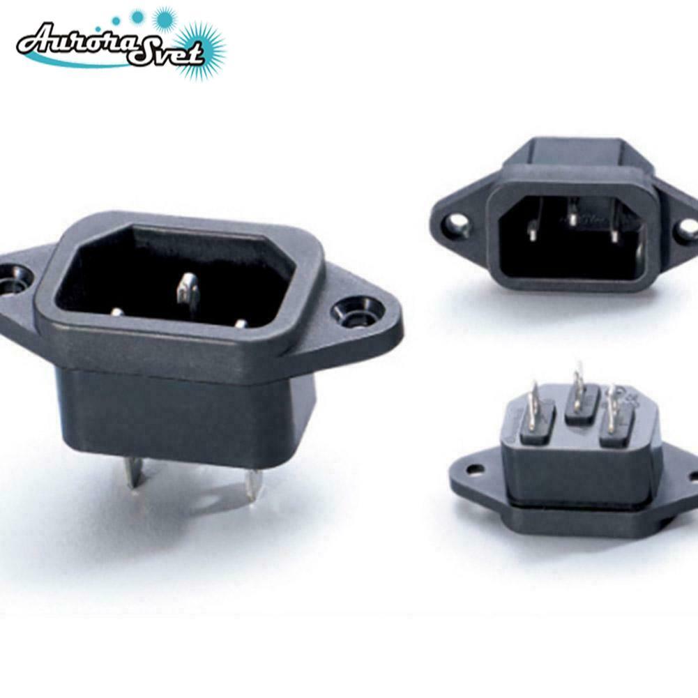Електрична розетка змінного струму 250 Ст. 10 А для штекерного шнура живлення