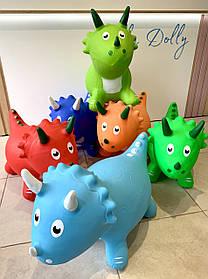 Прыгун резиновый Динозавр 0067