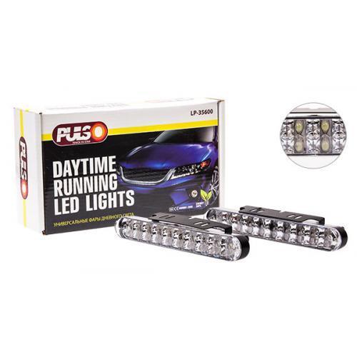 Фары доп/дневного света LP-35600 DRL 30LED/4W/12V/пластик/190*26mm/с поворотами (LP-35600)