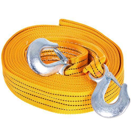 Трос буксирний ST206B/TP-209-5-1 5т стрічка 50мм х 6м оранж/2 гака/сумка (TP-209-5-1)