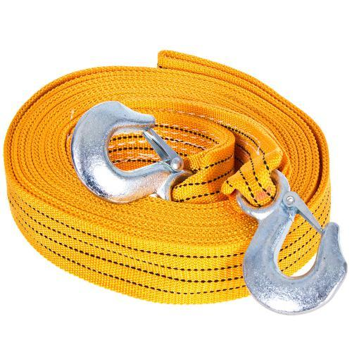 Трос буксировочный ST206B/TP-209-5-1 5т лента 50мм х 6м оранж/2 крюка/сумка (TP-209-5-1)