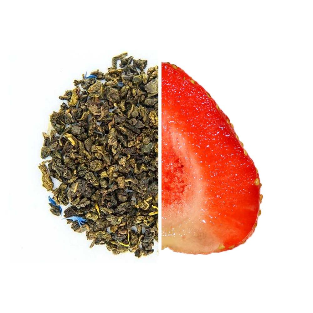 Чай Teahouse (Тіахаус) Полуничный улун 250 г (Tea Teahouse Strawberry oolong 250 g)