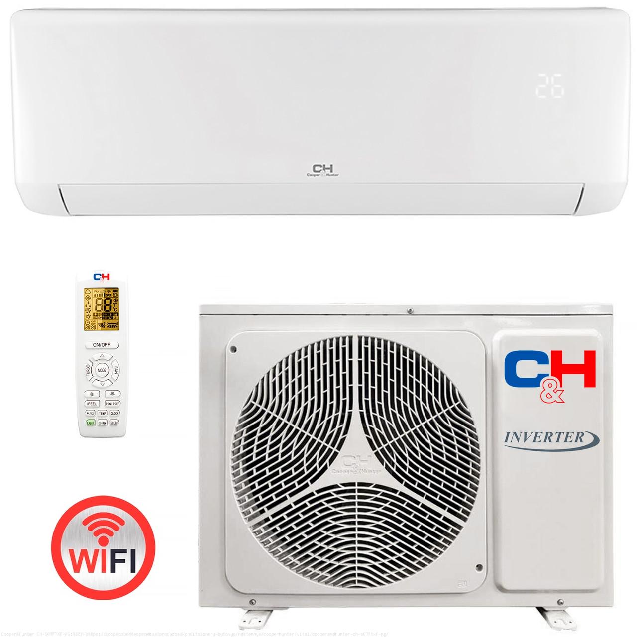 Кондиционер Cooper&Hunter CH-S12FTXF-NG R32 Wi-Fi