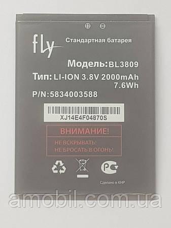Акумулятор FLY BL3809 iQ458 Quad EVO Tech 2, iQ459 Quad EVO Chic 2 orig б.у