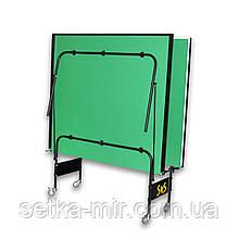 Теннисный стол складной S4S Премиум, зеленый