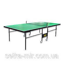 Теннисный стол складной S4S Элит, зеленый