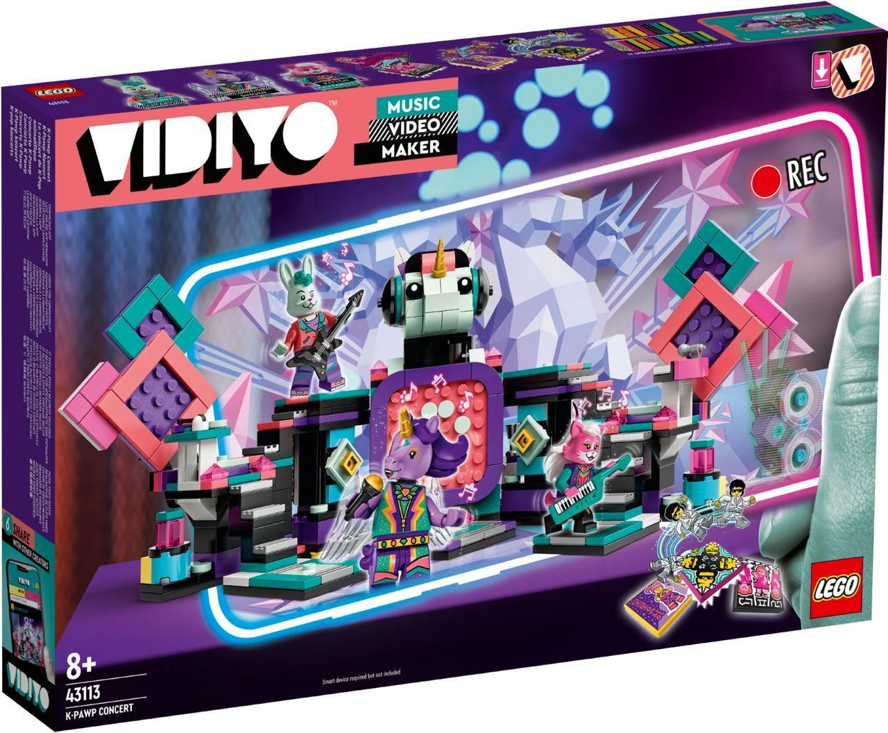 Lego Vidiyo K-Pawp Concert (Концерт в стилі К-поп) 43113