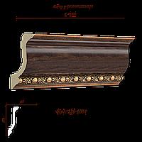 129-1084 Карниз с орнаментом декоративный
