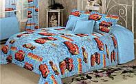 Полуторный комплект детского постельного белья из ранфорса