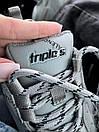 Жіночі Кросівки Balenciaga Tripl S Logo Grey, фото 4