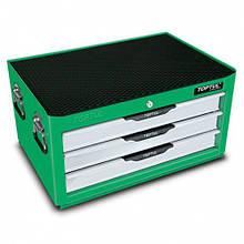 Металлический инструментальный ящик 3 секции (Pro-Line) TOPTUL TBAD0301