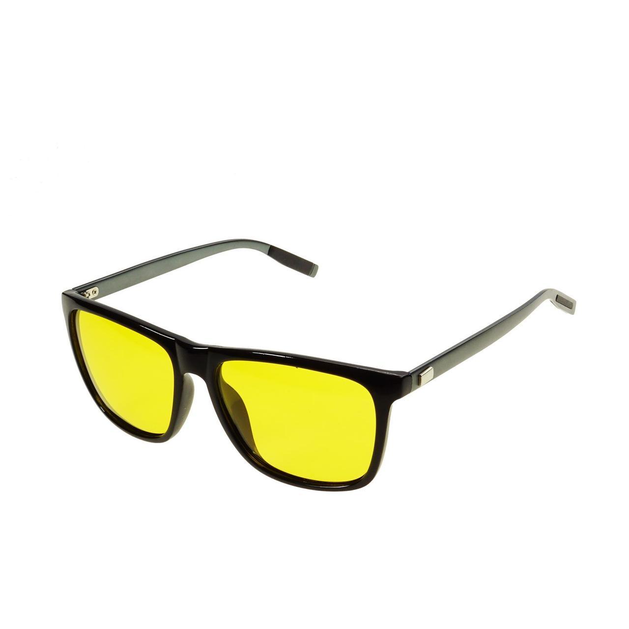 Жовті поляризаційні окуляри для водіїв Supretto антиблікові окуляри для рибалки (желтые фотохромные очки)