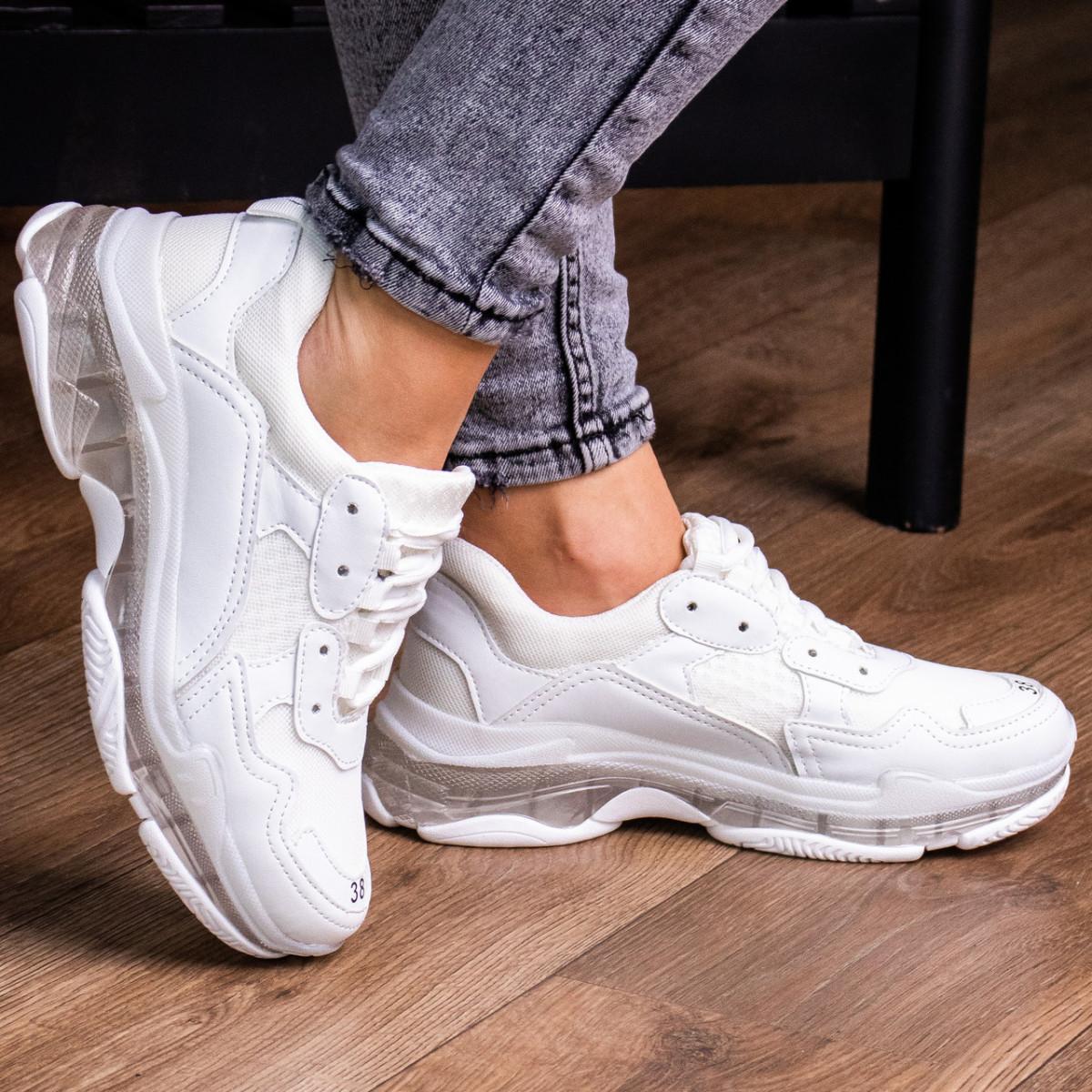 Женские кроссовки Fashion Badlands 1522 36 размер 23 см Белый