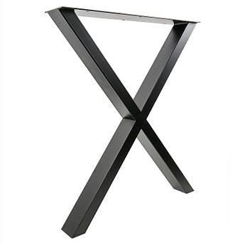Опора в стиле Лофт Loft OP-0372 Черная Woodin 720x600мм