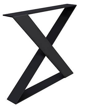 Опора в стиле Лофт Loft OP-1572 Черная Woodin 720x600мм