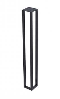 Опора в стиле Лофт Loft OP-0772 Черная Woodin 720x90х90мм
