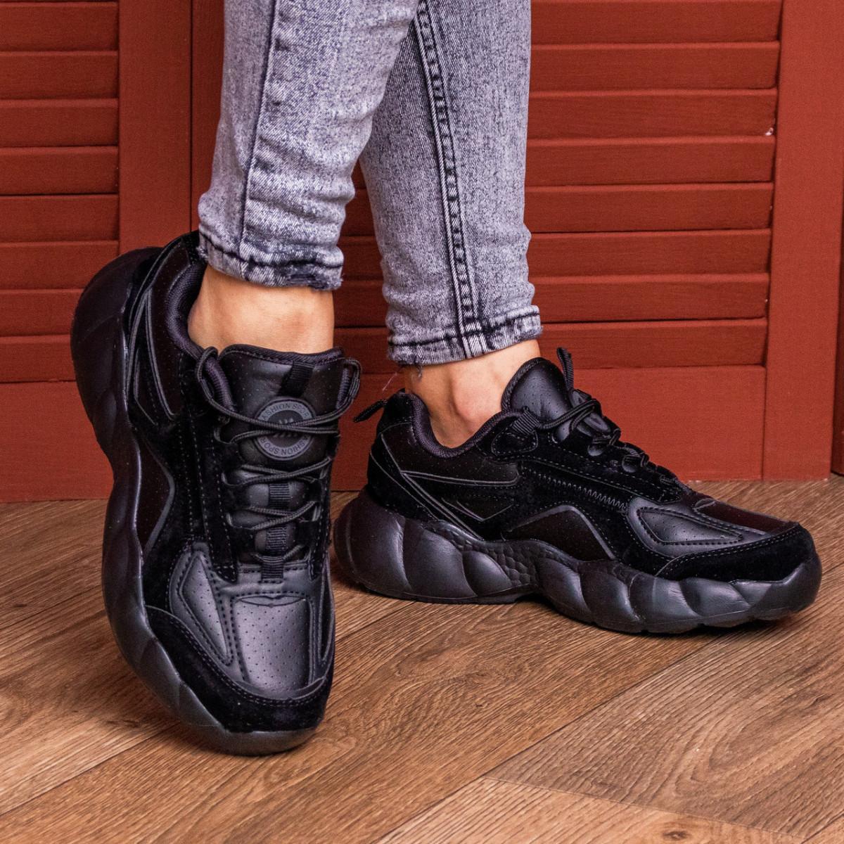 Женские кроссовки Fashion Bruno 1997 36 размер 23,5 см Черный