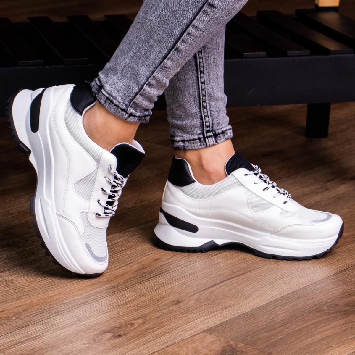 Женские кроссовки Fashion Kuma 1665 36 размер 23 см Белый