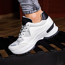 Женские кроссовки Fashion Kuma 1665 36 размер 23 см Белый, фото 2