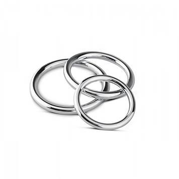 Набір эрекционных кілець Sinner Gear Unbendable - Cock/Ball Ring & Glans Ring Set код