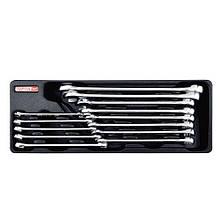 Набор комбинированных ключей 8-24 мм 13 ед. (в ложементе) TOPTUL GAAT1301