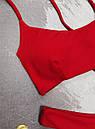 Купальник жіночий Reef з шнурівкою на спині червоний, фото 2