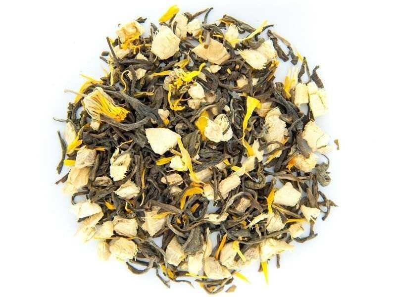 Чай Teahouse (Тиахаус) Имбирный зеленый 250 г (Tea Teahouse Ginger green 250 g)