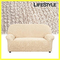 Покрывало-накидка на диван / Накидка для дивана